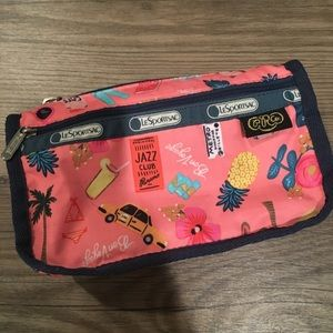 Rifle Paper Co LeSportSac Pouch!!